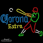 Corona Extra Baseball Neon Sign
