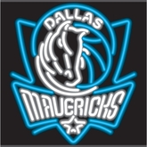 Dallas Mavericks Neon Sign