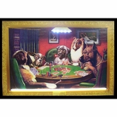 Dogs Playing Poker Neon & LED Picture