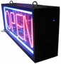 Double Faced Outdoor Neon Open Sign