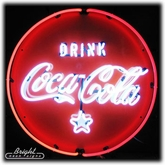 Drink Coca-Cola Neon Sign