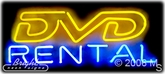 Dvd Rental Neon Sign