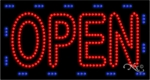 Extra Large Animated LED Open Sign