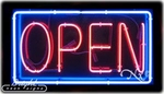 Extra Large Neon Open Sign