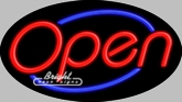 Flashing Neon Open Sign