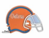 Florida Gators Football Neon Helmet
