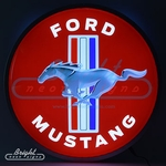 Ford Mustang Backlit LED Sign