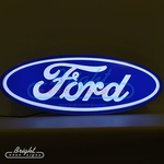 Ford Oval Backlit LED Sign