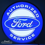 Ford Service Backlit LED Sign