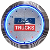 Ford Trucks Neon Clock