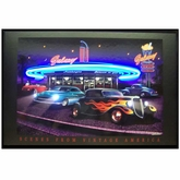 Galaxy Diner Neon & LED Picture