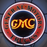 General Motors Trucks Neon Sign