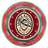 George Killian's Neon Wall Clock
