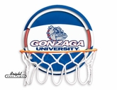 Gonzaga Neon Basketball Sign
