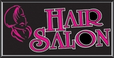 Hair Salon Lightbox Sign