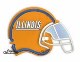 Illinois Fighting Illini Football Neon Helmet