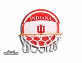 Indiana Neon Basketball Sign