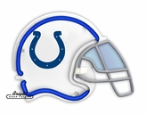 Indianapolis Colts Neon Helmet