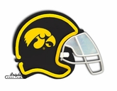 Iowa Hawkeyes Football Neon Helmet