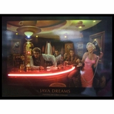 Java Dreams Neon & LED Picture