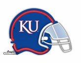 Kansas Jayhawks Football Neon Helmet
