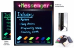 LED Write On Board with Scrolling Messenger