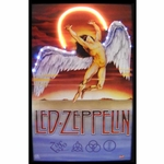 Led Zeppelin Neon & LED Picture