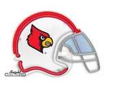 Louisville Cardinals Football Neon Helmet