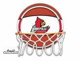 Louisville Neon Basketball Sign