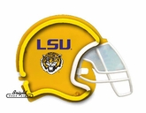 LSU Tigers Football Neon Helmet