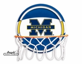 Michigan Neon Basketball Sign