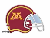 Minnesota Golden Gophers Football Neon Helmet