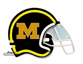 Missouri Tigers Football Neon Helmet