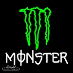 Monster Energy Neon Sign