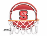 NC State Neon Basketball Sign