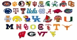NCAA College Team Neon Signs