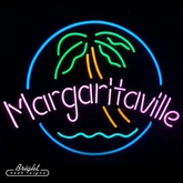 Neon Margaritaville Beer Sign