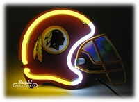 Neon NFL Football Helmets