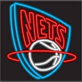 New Jersey Nets Neon Sign