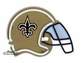 New Orleans Saints Neon Helmet