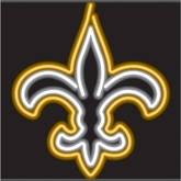 New Orleans Saints Neon Sign