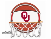 Oklahoma Neon Basketball Sign
