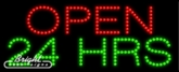 Open 24 Hrs LED Sign