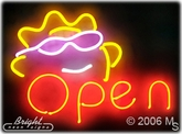Open Sunshine Neon Sign
