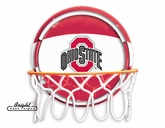 OSU Buckeyes Neon Basketball Sign