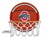 OSU Neon Basketball Sign