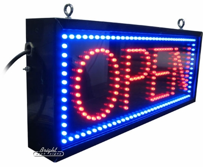 Outdoor Led Open Sign Only 379 99 Neon Open Signs