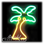 Palm Tree Neon Sculpture