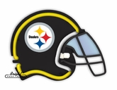Pittsburgh Steelers Neon Helmet