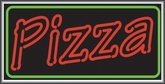 Pizza Lightbox Sign
